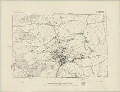 Worcestershire XXIII.NW - OS Six-Inch Map