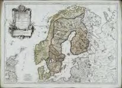 Les couronnes du Nord comprenant les royaumes de Suede Danemarck et Norwege