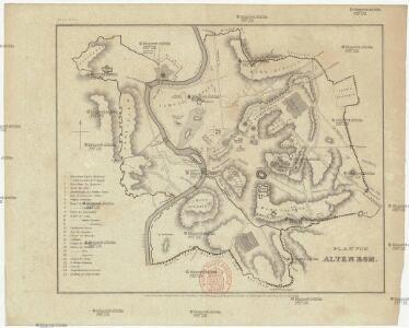 Plan vom alten Rom