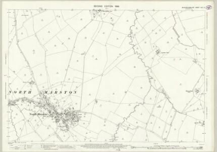 Buckinghamshire XXIII.6 (includes: North Marston; Oving) - 25 Inch Map