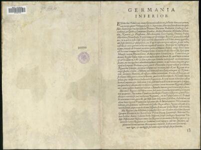 Descriptio Germaniae Inferioris