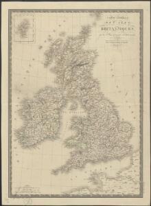 Carte générale des Iles Britanniques