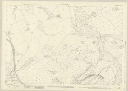 Caernarvonshire XII.1 (includes: Llandygai; Llanllechid; Pentir) - 25 Inch Map