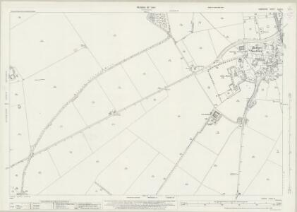 Hampshire and Isle of Wight XXXII.8 (includes: Barton Stacey; Bullington; Wonston) - 25 Inch Map