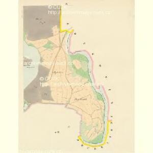 Bollewetz (Bolewec) - c0349-1-008 - Kaiserpflichtexemplar der Landkarten des stabilen Katasters