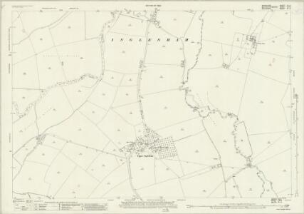 Wiltshire VI.6 (includes: Buscot; Hannington; Highworth; Inglesham; Kempsford) - 25 Inch Map