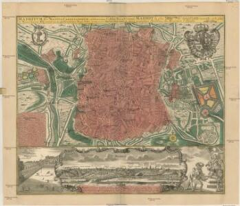 MADRITUM sive MANTUA CARPETANORUM celeberrima Castiliae Novae Civitas et Monarcharum Hispanicorum magnificentißima regia sedes
