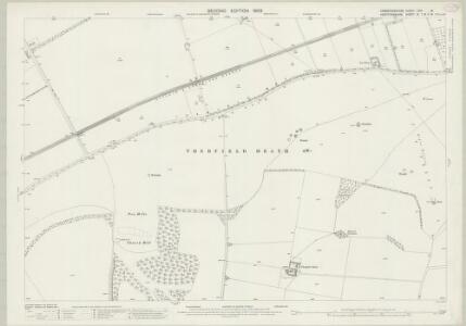 Cambridgeshire LVIII.13 (includes: Bassingbourn; Litlington; Royston; Therfield) - 25 Inch Map