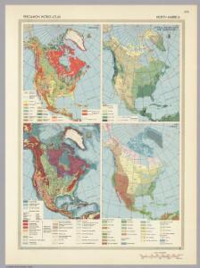 North America.  Pergamon World Atlas.