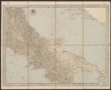 Carta d'Italia alla scala di 1 a 1 000 000