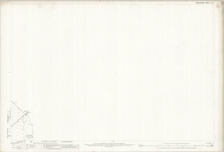 Derbyshire VII.3 (includes: Bradfield; Derwent) - 25 Inch Map