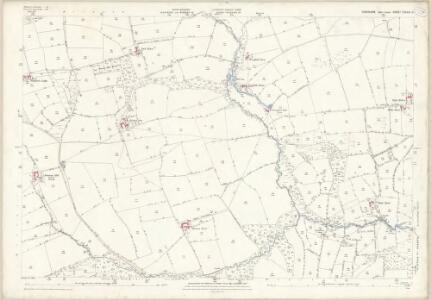 Yorkshire CXXXVI.11 (includes: Bishop Thornton; Hartwith Cum Winsley) - 25 Inch Map