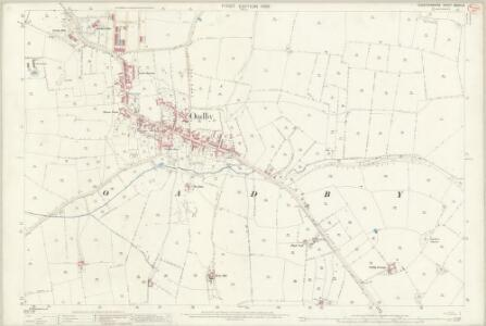 Leicestershire XXXVII.8 (includes: Oadby; Stoughton; Wigston Magna) - 25 Inch Map