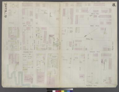 [Plate 8: Map bounded by Pacific Street, Henry Street, Degraw Street, Van Brunt Street, Buttermilk Channel]