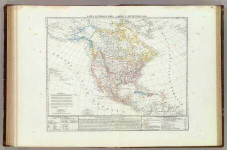 Carta generale dell'America Settentrionale.