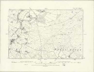 Cornwall LXXX.SW - OS Six-Inch Map