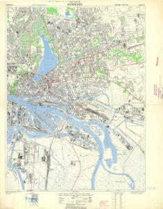 Germany [Town plans of], Hamburg