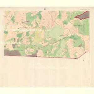 Alt Hrosenkau (Stary Hrasenkow) - m2868-1-015 - Kaiserpflichtexemplar der Landkarten des stabilen Katasters