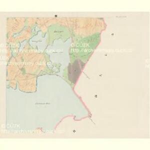 Poniedraž - c6006-1-003 - Kaiserpflichtexemplar der Landkarten des stabilen Katasters