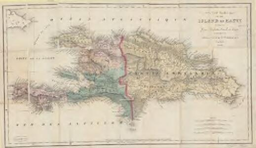 The Geffrard map of the island of Hayti [cartographic material] : drawn for James Redpath's guide to Hayti