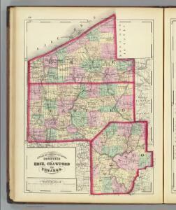 Erie, Crawford, Venango counties.