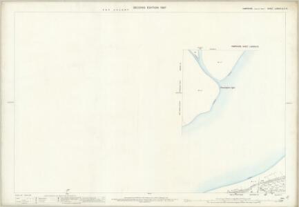 Hampshire and Isle of Wight LXXXVIII.15 & LXXXVIII.16 (includes: Lymington; Shalfleet) - 25 Inch Map