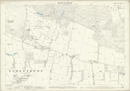 Sussex LI.1 (includes: Sullington; Thakenham; Washington) - 25 Inch Map