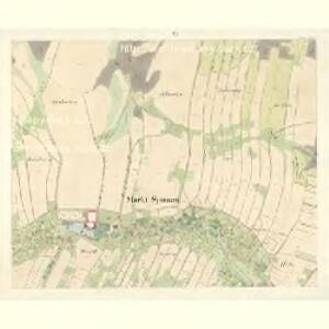 Sponau (Spalow) - m2820-1-005 - Kaiserpflichtexemplar der Landkarten des stabilen Katasters
