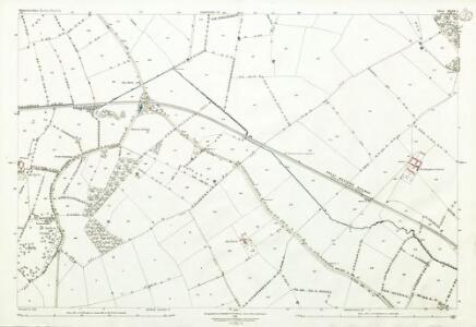 Gloucestershire XXIX.3 (includes: Bledington; Icomb; Oddington) - 25 Inch Map