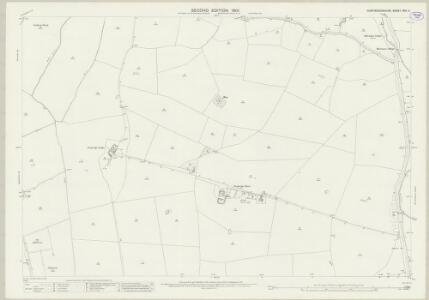 Huntingdonshire XVII.11 (includes: Alconbury; Barham and Woolley; Ellington; The Stukeleys) - 25 Inch Map