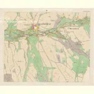 Giesshübel (Wolessnice) - c5448-1-003 - Kaiserpflichtexemplar der Landkarten des stabilen Katasters