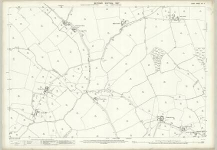 Essex (1st Ed/Rev 1862-96) XIV.4 (includes: Little Sampford; Thaxted; Wimbish) - 25 Inch Map
