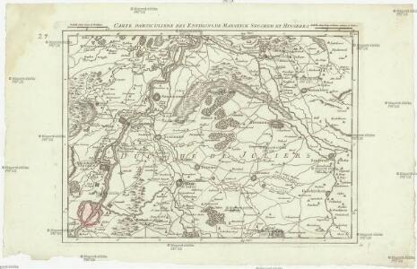 Carte particuliere des environs de Maeseyck Stochem et Hinsberg