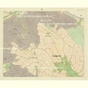 Schönwerth - c3515-4-004 - Kaiserpflichtexemplar der Landkarten des stabilen Katasters