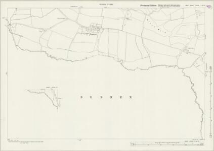 Kent LXXVIII.11 & 10 (includes: Bodiam; Hawkhurst; Salehurst; Sandhurst) - 25 Inch Map