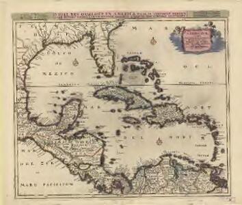 Insulae Americanae, nempe Cuba, Hispaniola Iamaica, Pto. Rico, Lucania, Antillae vulgo Caribae, Barlo-Et Sotto-Vento etc