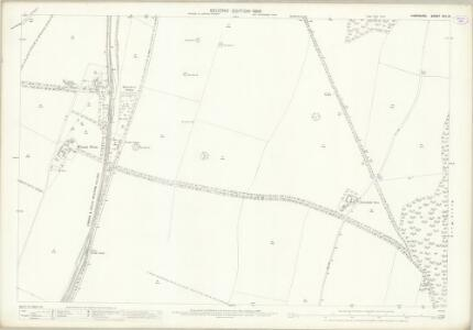 Hampshire and Isle of Wight XXV.15 (includes: Micheldever) - 25 Inch Map