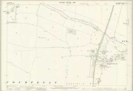 Oxfordshire XLV.15 (includes: Appleford; Clifton Hampden; Culham; Sutton Courtenay) - 25 Inch Map