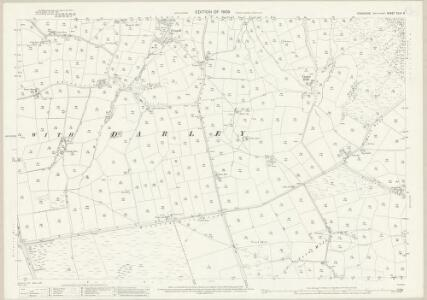 Yorkshire CLIII.6 (includes: Birstwith; Menwith With Darley) - 25 Inch Map