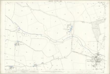 Essex (1st Ed/Rev 1862-96) XLIII.3 (includes: Great Waltham; Pleshy) - 25 Inch Map