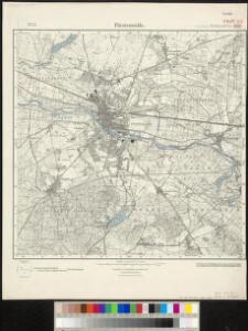 Meßtischblatt 3650 : Fürstenwalde, 1937