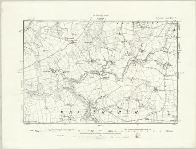 Pembrokeshire XIV.NW & NE - OS Six-Inch Map
