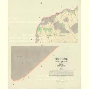 Oberdorf (Hornj Rokitnice) - c2136-1-002 - Kaiserpflichtexemplar der Landkarten des stabilen Katasters