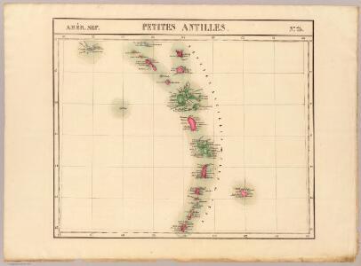 Petites Antilles. Amer. Sep. 75.