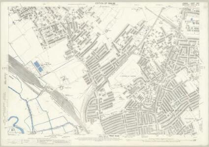London (Edition of 1894-96) XXXII (includes: Cann Hall; Leyton; West Ham) - 25 Inch Map