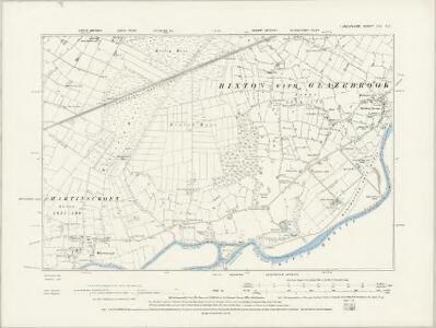 Lancashire CIX.SW - OS Six-Inch Map