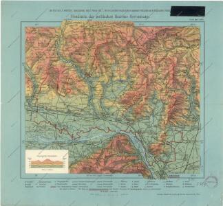 Handkarte des politischen Bezirkes Korneuburg