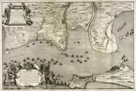 Plan de Cadix, de la baye, du Puntal de Port Marie, de Rotta, [et] de l'entrèe de la riviere de Guadalete