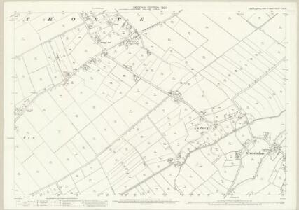 Lincolnshire XL.12 (includes: Conisholme; Grainthorpe) - 25 Inch Map