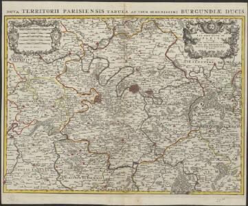 Les environs de Paris à l'usage de Monseigneur le Duc de Bourgogne